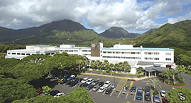 Adventist Health Castle hawaii hospital exterior building