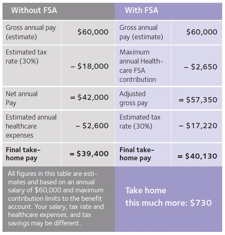 Flexible Spending Account chart