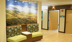 The 5th floor orthopedic unit at Adventist Medical Center in Portland, OR