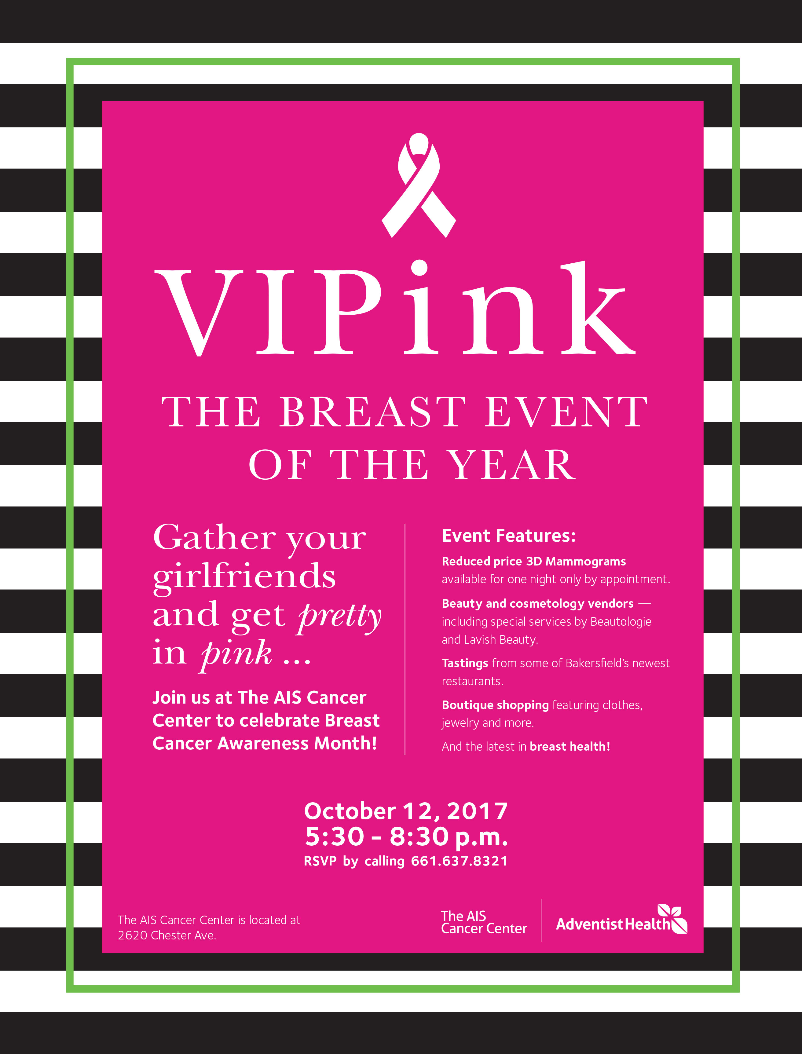 VIPink flyer