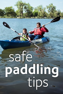 safe paddling tips