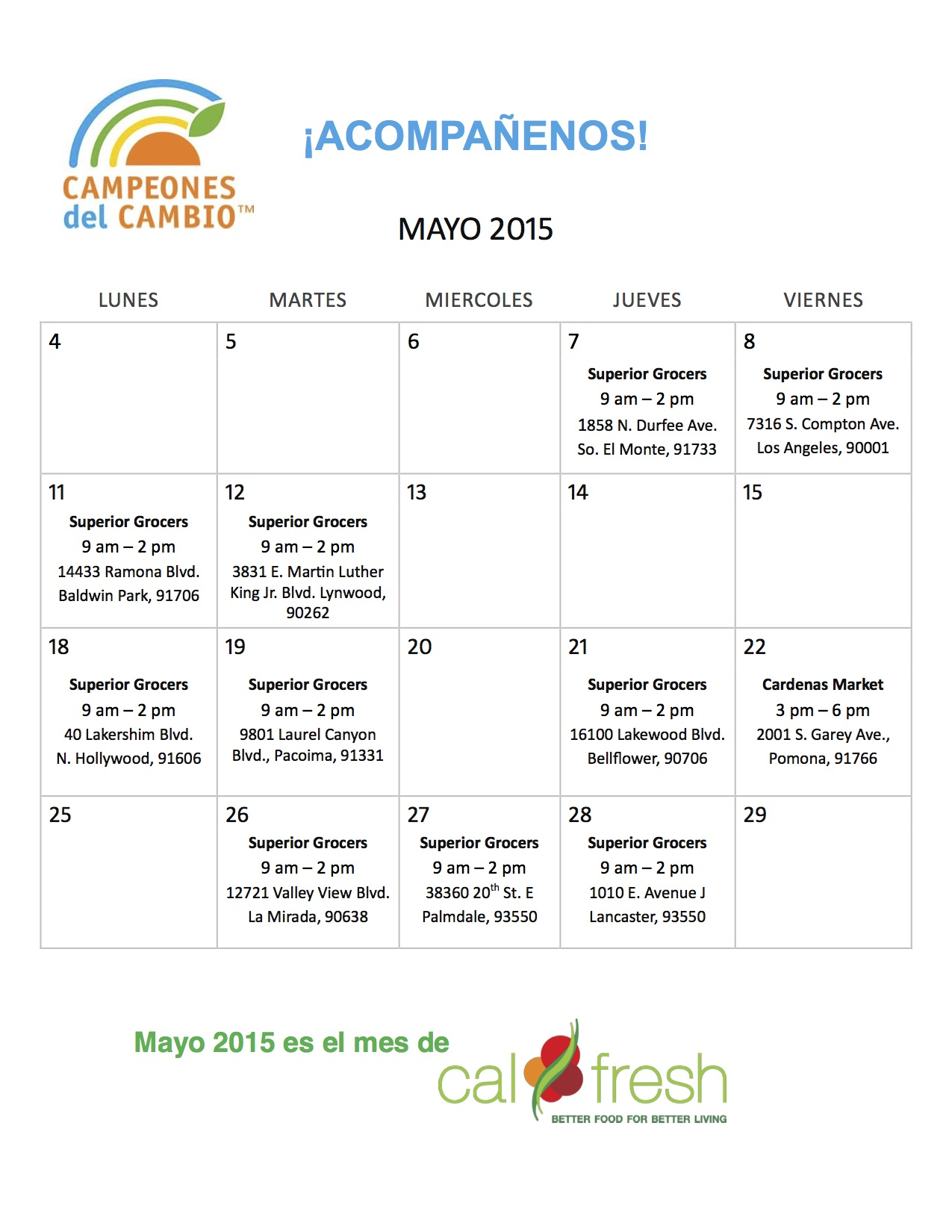 may 2015 cal fresh calendar spanish