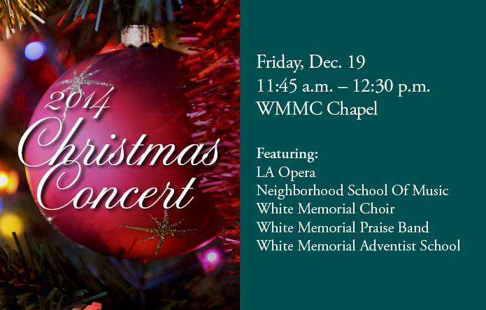 2014 christmas concert flyer