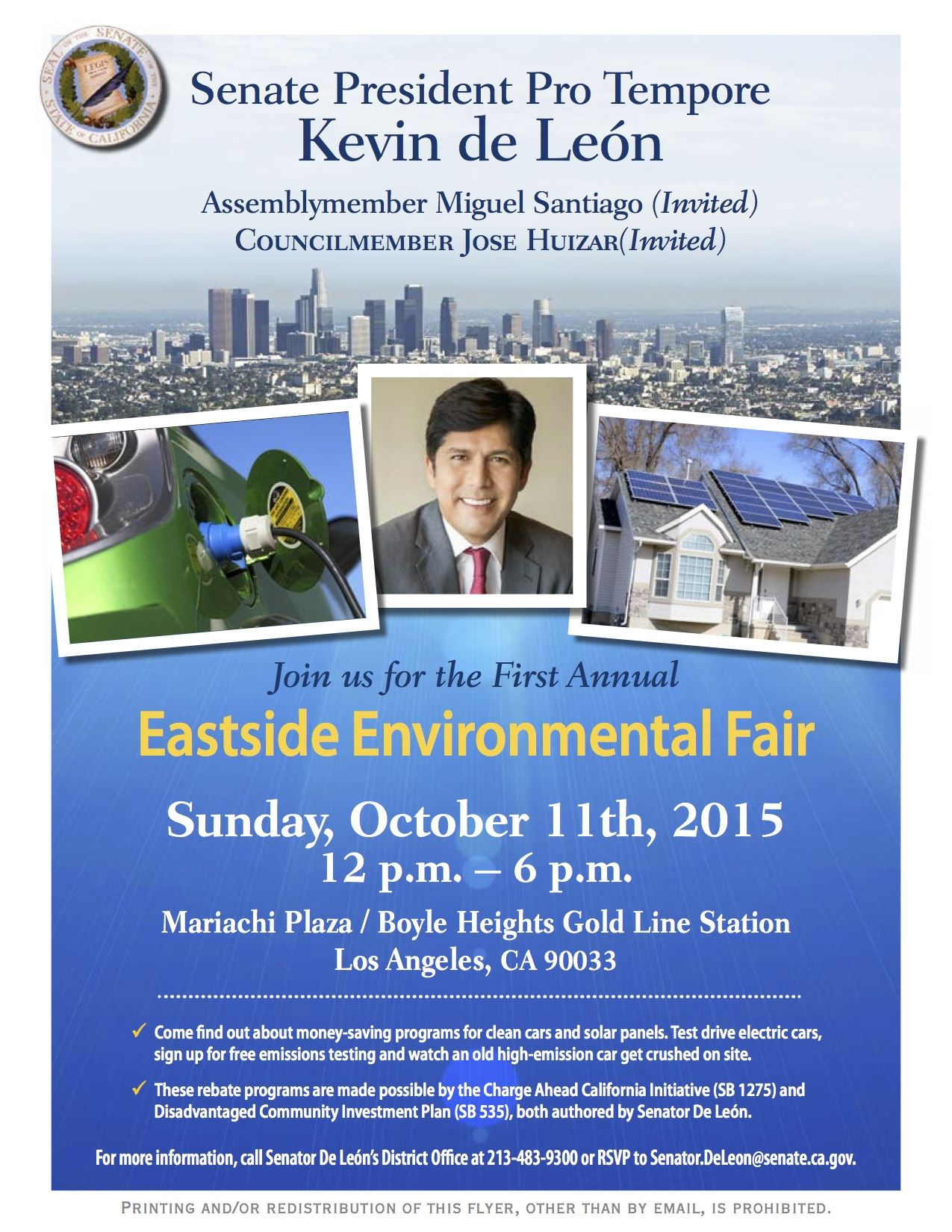 eastside environmental fair flyer