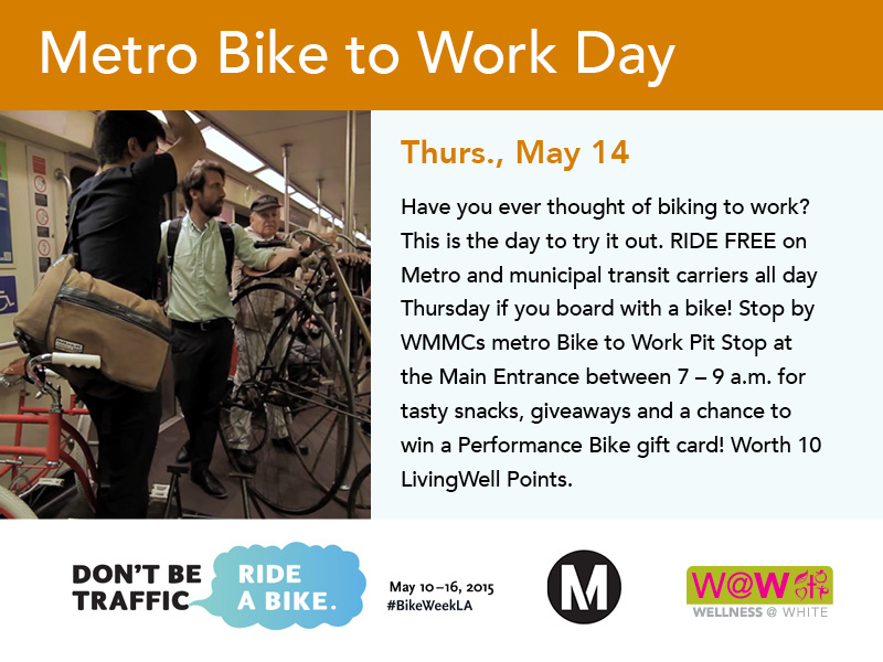 metro bike to work day