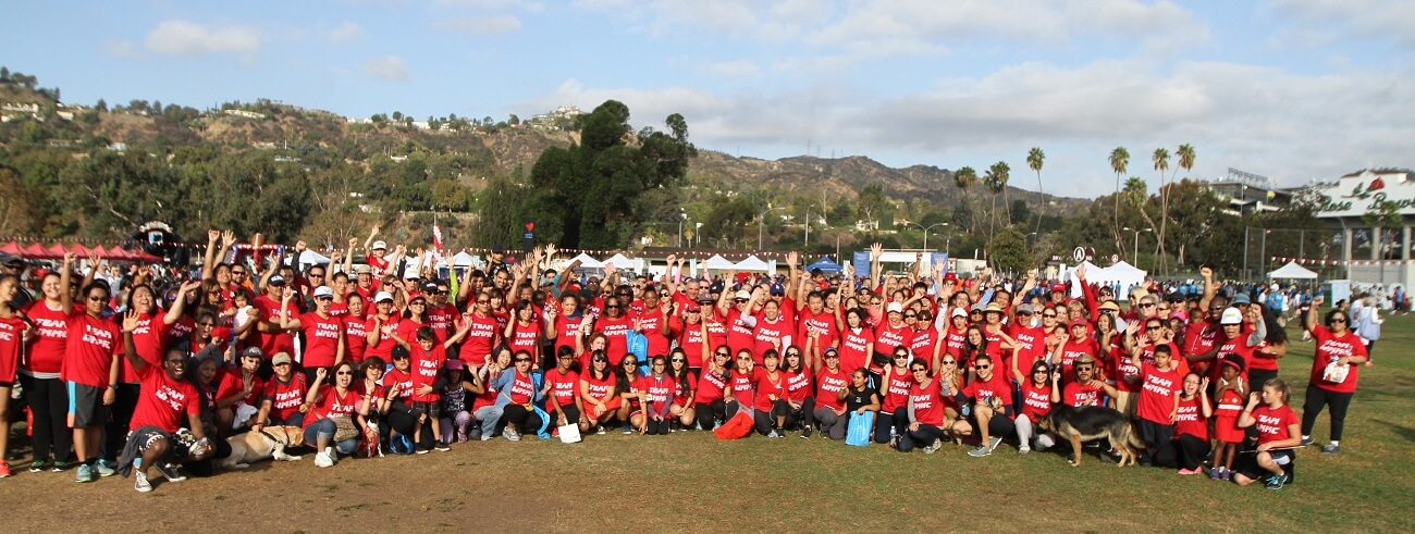 photo of WMMC heart walk participants