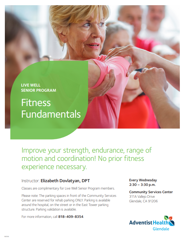 Fitness Fundamentals Adventist Health Glendale