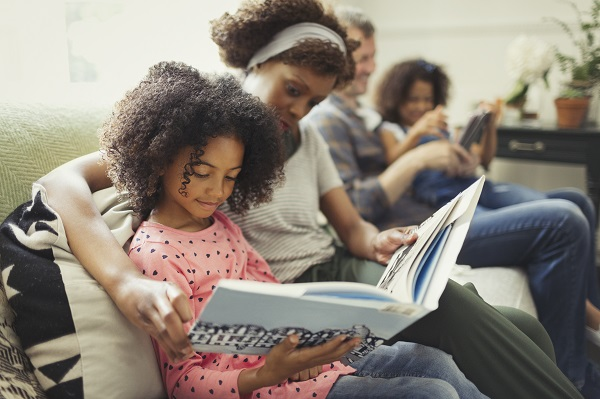 Parent Reading With Child