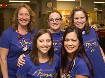 The stroke team at Adventist Medical Center