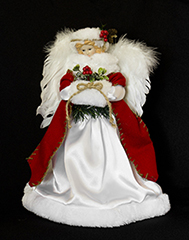 Angels and Bows Ornament