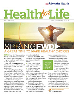 Health for Life - April/May 2016