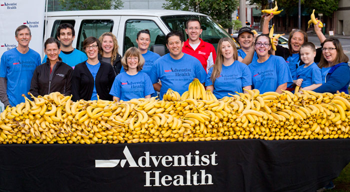 The Adventist Health team at Race for the Cure