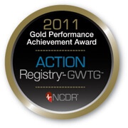 Action Registry Gold Award Seal