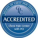 Chest Pain Center Accreditation Seal