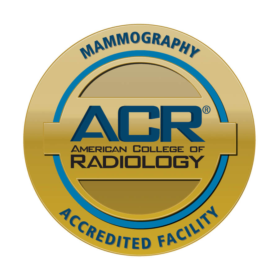 ACR accreditation seal