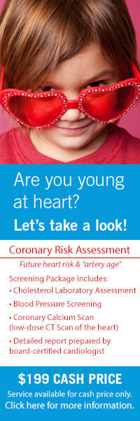 Coronary risk assessment promo