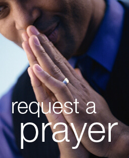 person praying
