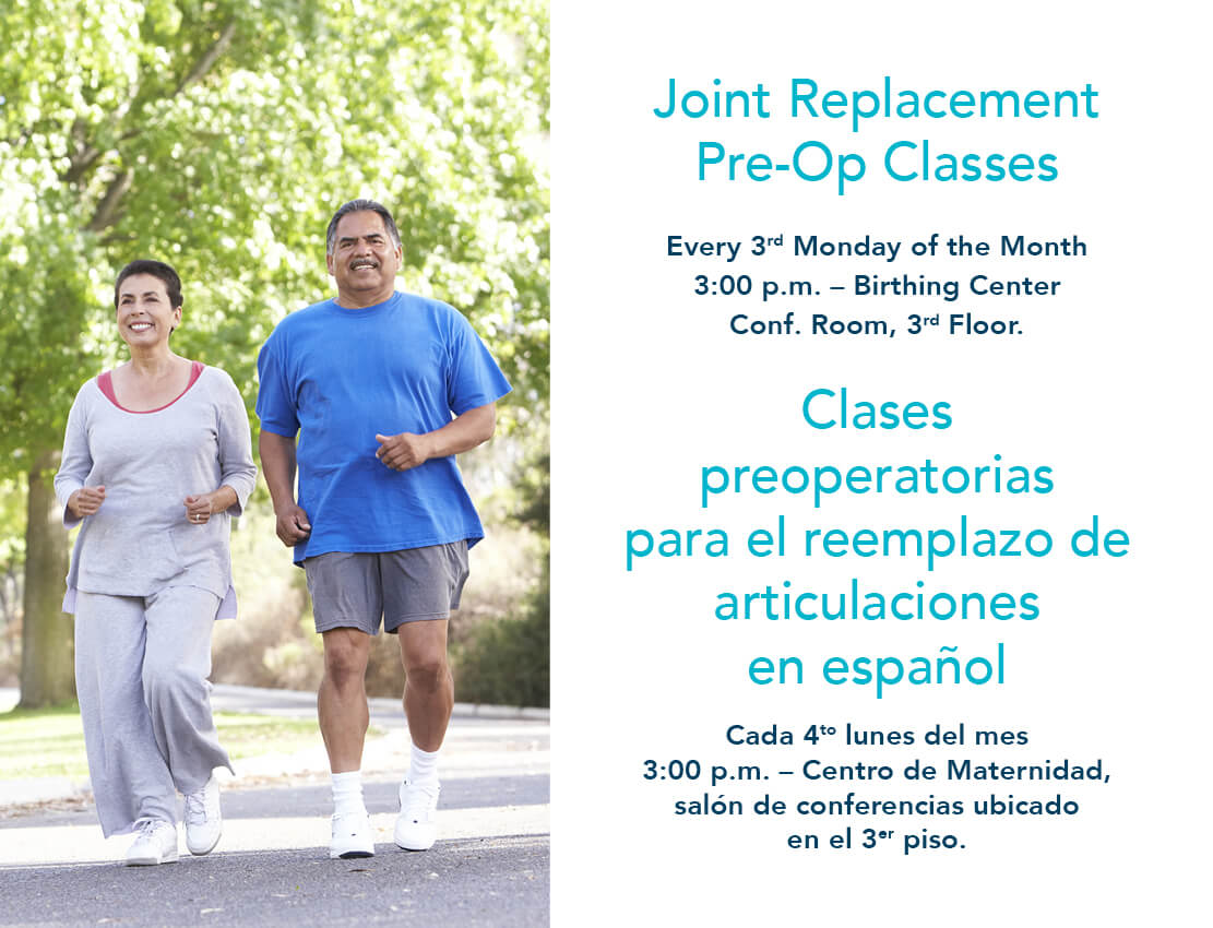 Joint Replacement Classes
